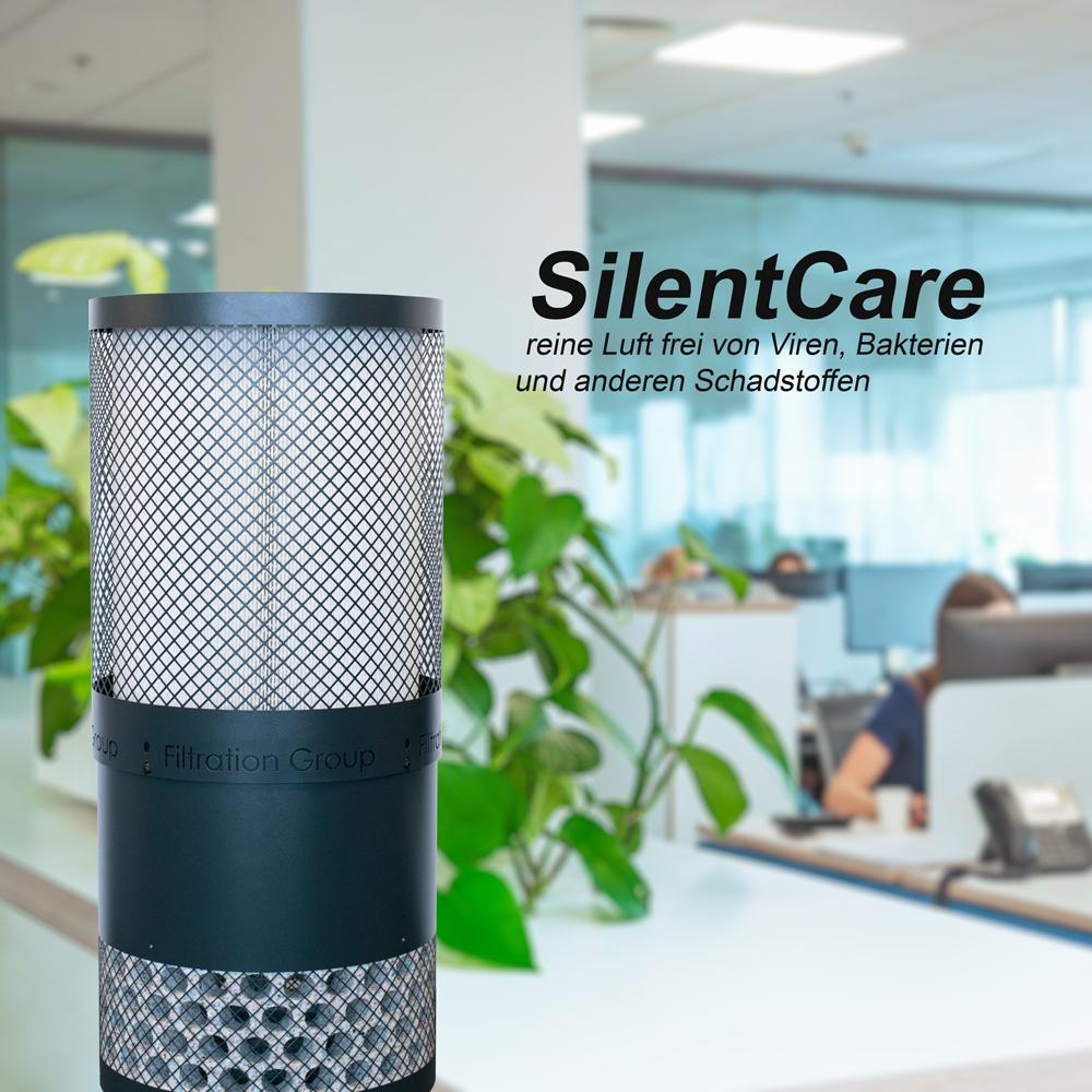Silentcare-Raumluftfilter
